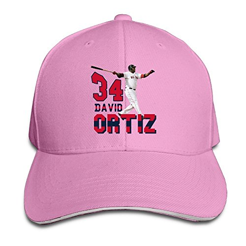 boston-red-sox-de-beisbol-gameser-david-ortiz-exterior-hip-hop-algodon-caps-sombreros-ajustable