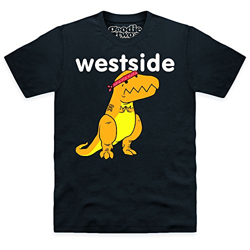 Goodie Two Sleeves Westside T-shirt, Uomo, Nero, 3XL