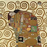 """ Fulfillment (Detail) "" - Gustav Klimt Open Greeting Card - BC1GK4"