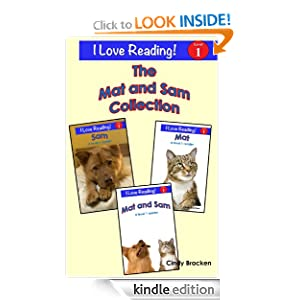 "The Mat and Sam Collection (A set of 3 ""I Love Reading"" Level 1 readers)"
