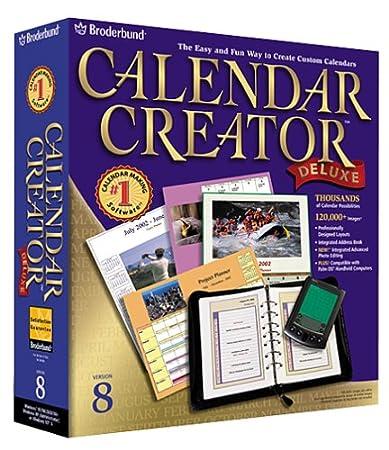 Calendar Creator Deluxe 8