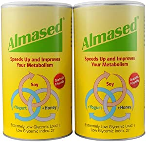 Almased Nutritional Multi Protein Shake Powder, 17.6 oz, 2 Pack