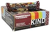 Kind Fruit and Nut Bars Plus Antioxidants Cranberry Almond 12 Bars