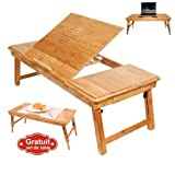 Table de lit pliable