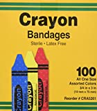 Bandages, Crayon Strips, Adhesive, 100/BX (AGPCRA5261) Category: Bandages and Dressings