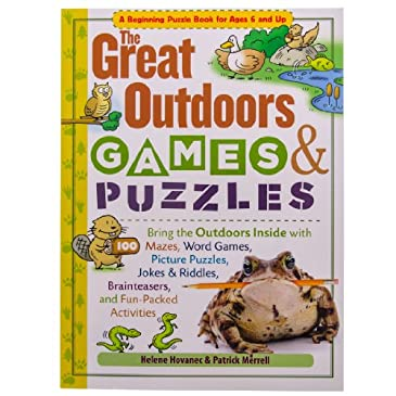 Great Outdoors Games Puzzle Book