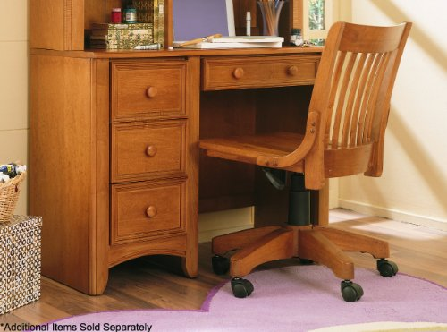 student desks for bedroom on sale cheap lea my place 4 drawer wood student desk in maple. Black Bedroom Furniture Sets. Home Design Ideas