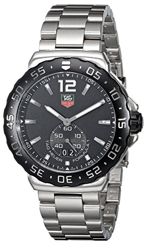 TAG Heuer Men's WAU1110.BA0858 Formula 1 Black Dial Stainless Steel Quartz Watch image