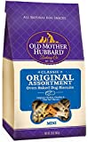 Old Mother Hubbard Crunchy Classic Natural Dog Treats, Original Assortment Mini Biscuits, 20-Ounce Bag