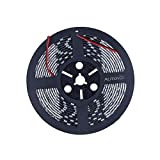 ALITOVE 16.4ft 5050 SMD Red LED Flexible Strip ribbon Light 5M 300 LEDs Waterproof IP65 DC 12V for Home Garden Commercial Area and Festival Decoration Lighting