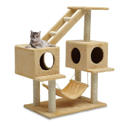 Kitty climber cat tree the pet furniture store for Pictures of cat trees