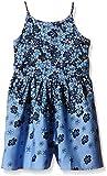 Yumi Fading Floral Playsuit (denim)-Falda Niños    Azul azul (Denim) 6 años
