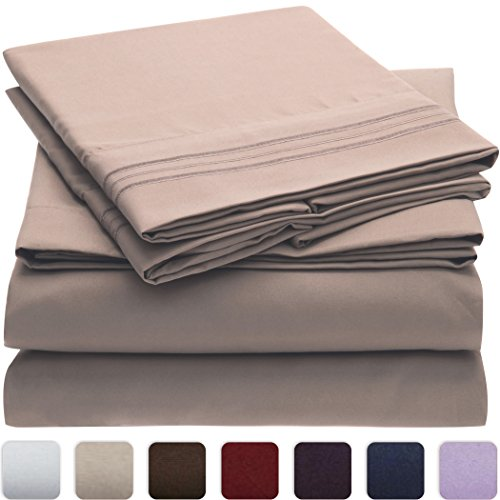 Learn More About #1 Bed Sheet Set - SALE - HIGHEST QUALITY Brushed Microfiber 1800 Bedding - Wrinkle...