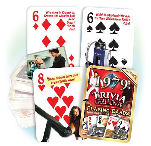 Flickback 1979 Trivia Playing Cards - 1