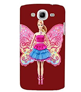 SAMSUNG GALAXY MEGA 5.8 ANGEL GIRL Back Cover by PRINTSWAG