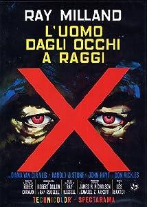 Amazon.com: L'Uomo Dagli Occhi A Raggi X [Italian Edition]: Movies