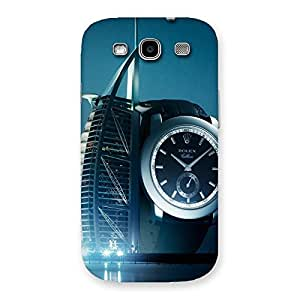 Ajay Enterprises Fill Watch Back Case Cover for Galaxy S3 Neo
