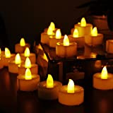 Flameless Candles, Led Tea Light Candles With Battery Powered Wedding Candles Decorations For Parties Events Tealight...