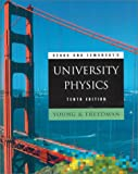 Sears and Zemansky's University Physics (10th Edition) (0201603225) by Hugh D. Young