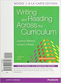 writing and reading across the curriculum 11 edition Writing and reading across the curriculum 12th edition download writing and reading across the curriculum 12th edition download - title ebooks : primitive and pioneer sports for recreation today chapter 11 the scope of.