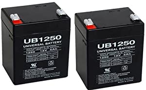 Belkin BERBC42 UPS Battery - One Battery 12V 5Ah F1 - 2 Pack