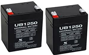 New Electric Trailer Brakes Breakaway Kit Rechargeable Battery UB1250 - 2 Pack
