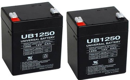 Razor E100 E125 E150 Electric Scooter battery 12V 5AH - 2 Pack
