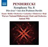 echange, troc  - Penderecki : Symphonie n° 8 - Dies irae - Aus den Psalmen Davids