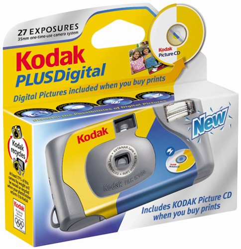 Kodak Plus One-Time-Use Digital Camera