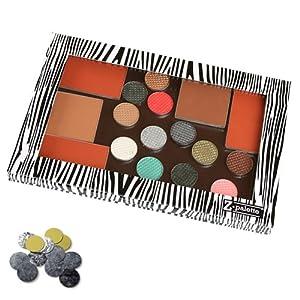 Z Palette Pro Makeup Palette, Zebra
