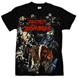 Call Of Duty Black Ops Zombies T-shirt