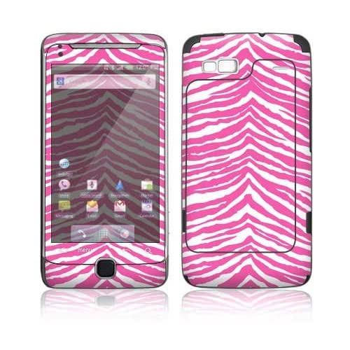 Pink Zebra Decorative Skin Cover Decal Sticker for HTC Google 2 G2 Cell Phone