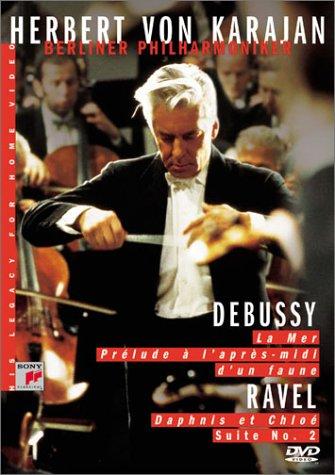 Herbert von Karajan / Debussy : La Mer, Prelude A L'apres-midi D'un Faune / Ravel :Daphnis Et Chloe Suite No.2 [DVD] [Import]