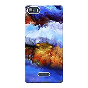 Mobile Back Cover For MicromaxCanvas 5 (Printed Designer Case)