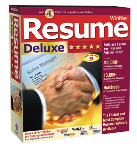 winway resume deluxe 14 crack serial