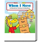 When I Move Coloring and Activity Book Trade Show Giveaway