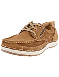 Nobility By Action Men's Leather Casual Shoes (C35_3005_Brown)
