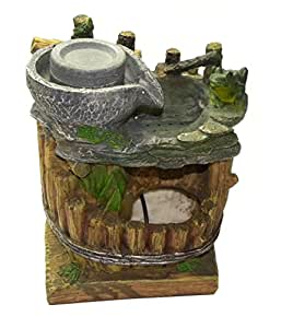 Alria water fountain indoor tabletop desk top home decor for Best home decor amazon
