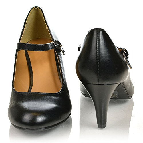 8. Classic Mary Jane Round Toe Dress Patent MP, New Women Shoe Size by Sully's