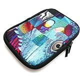Emartbuy® Reptile Mosaico Agua Neopreno Resistente Case Zip Soft / Cubierta Adecuada Para Kindle PaperWhite eReader (6 PuLGadas)