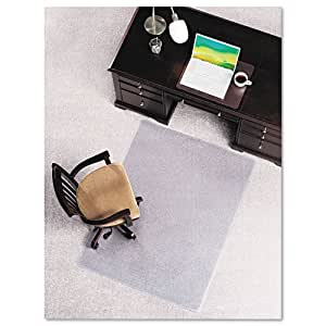 e s robbins anchormat chair mat for plush carpets 46w