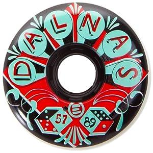 Eulogy Jeff Dalnas Vintage Pro Aggressive Skate Wheel (Set of 4) by Eulogy