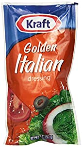Kraft Golden Italian Salad Dressing, 2-Ounce Packages (Pack of 100)
