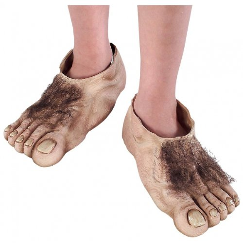 Child Hobbit Costume Feet - Officially Licensed TM Costume Accessory (Kids Hobbit Feet)