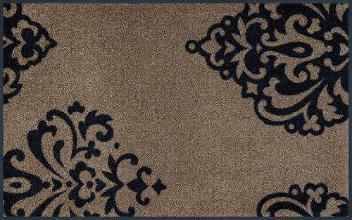 wash+dry Fußmatte Lucia brown 75×120 cm