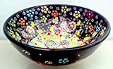 Turkceramics Relief Bowl (10cm, Black)