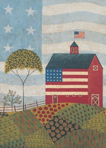 Toland Home Garden American Farm Garden Flag 118062