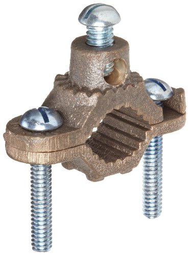 Morris products ground pipe clamp with adaptor
