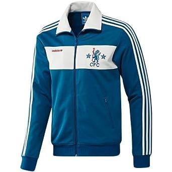 Chelsea FC Adidas Originals Retro Beckenbauer Track Top (Adult Medium)