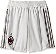 adidas ACM A SHO Y - Pantalón corto para niño, color blanco / gris
